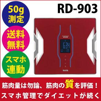 RD-903 红色鳞片,身体组成规模塔妮塔内扫描双