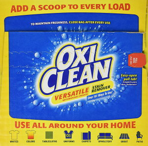 送料無料OXICLEANオキシクリーンマルチパーパスクリーナーSTAINREMOVER4.98kgシミ取り漂白剤11LB(4.98kg)【代引不可】【キャンセル不可】