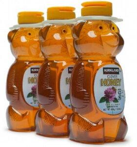 KIRKLAND カークランド ハチミツ ベアージャグ Honey Bear 680g×3本 コストコ