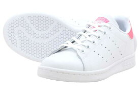adidas Originals STAN SMITH Jアディダス スタンスミス JRUNNING WHITE/RUNNING WHITE/REAL PINK【レディース スニーカー】