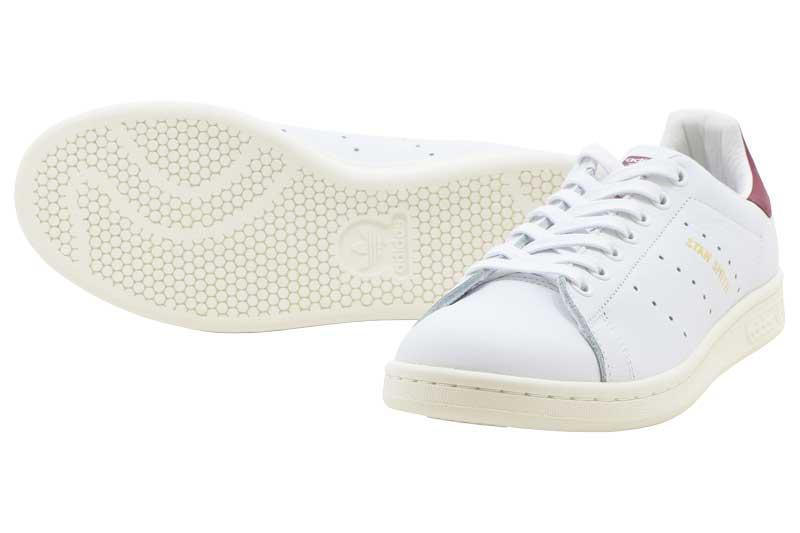 adidas Originals STAN SMITHアディダス オリジナルス スタンスミスRunning White/Running White/Collegiate Burgundy【メンズ・レディース】