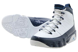 finest selection 4dde8 2367c NIKE AIR JORDAN 9 RETROナイキ エアジョーダン 9 レトロWHITE UNIVERSITY BLUE