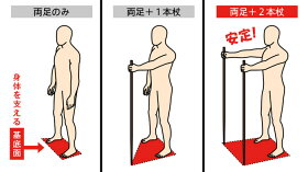 ウォーキングポール/健康器具