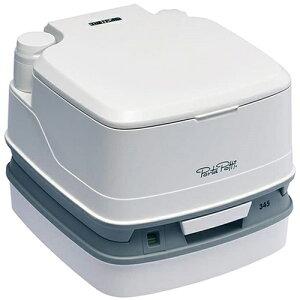 ポルタポッティキューブピストンポンプ/PPQ345 ホワイト カーメイト 送料無料 ポータブルトイレ 簡易トイレ キャンプ用品