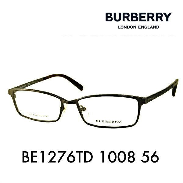 バーバリー 伊達 メガネ 眼鏡 サングラス BE1276TD 1008 56 BURBERRY