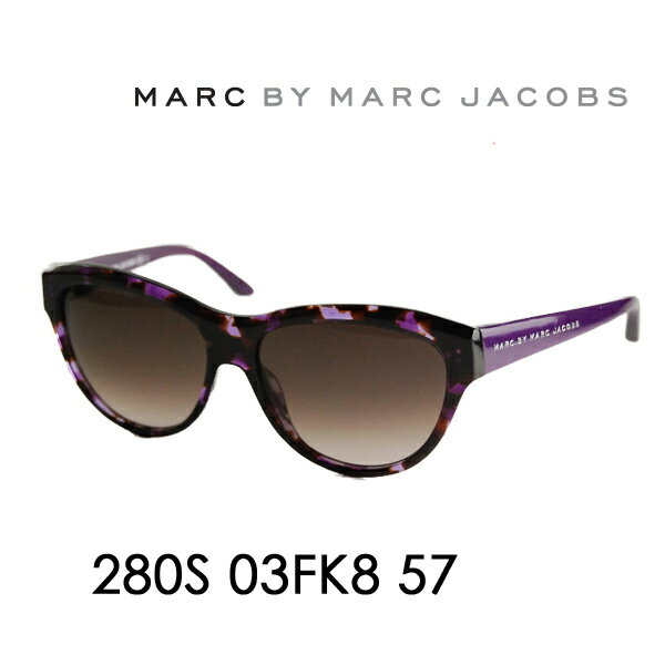 【OUTLET★SALE】アウトレット セール マークバイマークジェイコブス サングラス MMJ-280S KB 57 MARC BY MARCJACOBS