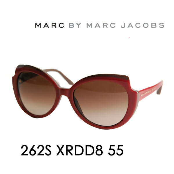 【OUTLET★SALE】アウトレット セール マークバイマークジェイコブス サングラス MMJ-262S D8 55 MARC BY MARCJACOBS