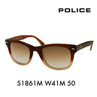 警察眼鏡太陽眼鏡沒鏡片的眼鏡眼鏡S1861M W41M 50 POLICE