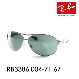 雷斑泪珠太陽眼鏡RB3386 004/71 67 Ray-Ban