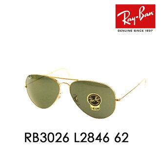 90c1b0e1ef Ray-Ban ( Ray Ban ) sunglasses RB3026 L2846 62 TM in AVIATOR LARGE METAL II  Aviator large metal □ frame color  Gold □ lens color  dark green