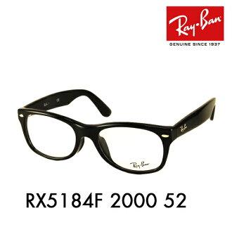 """釐米雷朋 (雷朋) 眼鏡框架軟銀""""砸""""了由木村拓哉磨損模型 ! RX5184F2000 52 框架顏色: 有光澤的黑色"""