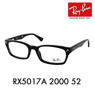 雷朋雷朋) 眼镜框架龙灰谷坚志惠顾模型 RX5017A2000 52 亚洲拟合模型黑色 rim ITA 眼镜