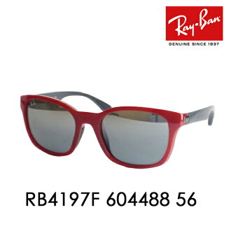 2273b3eea12 Ray-Ban ( Ray Ban ) sunglasses RB4197F604488 56 ITA glasses eyeglasses full  fitting □ frame color  white □ lens color  Greg rudeationsilver mirror