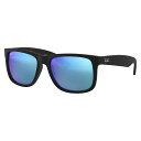 レイバン ジャスティン サングラス RB4165F 622/55 55 Ray-Ban 伊達メガネ 眼鏡 JUSTIN フルフィットモデル