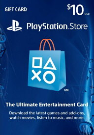 PlayStation NETWORK CARD $10 北米版
