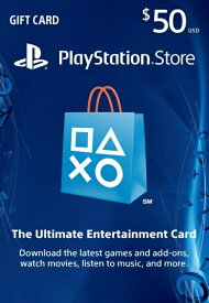 PlayStation NETWORK CARD $50 北米版〈Sony〉