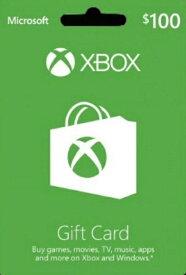 Xbox GIFT CARD $100(エックスボックスギフトカード $100 北米版)〈Microsoft〉