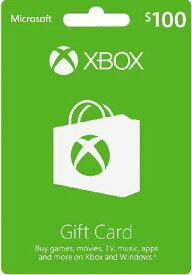 Xbox GIFT CARD $100 北米版〈Microsoft〉