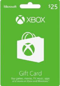 Xbox GIFT CARD $25 北米版
