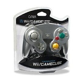 Wii/CUBE Cirka Controller-Silver(シリカコントローラー シルバー)〈Cirka〉[新品]