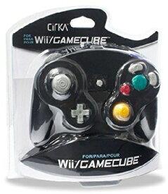 Wii/CUBE Cirka Controller-Black(シリカコントローラー ブラック)〈Cirka〉[新品]