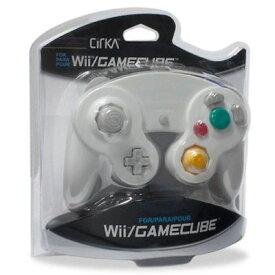 Wii/CUBE Cirka Controller-White(シリカコントローラー ホワイト)〈Cirka〉[新品]