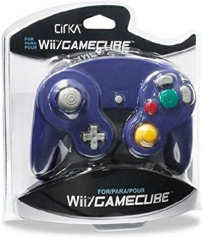 Wii/CUBE Cirka Controller-Purple(シリカコントローラー パープル)〈Cirka〉[新品]