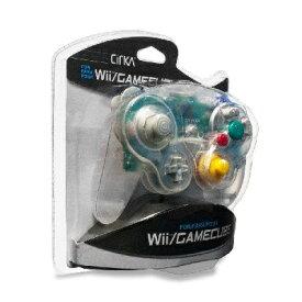 Wii/CUBE Cirka Controller-Clear(シリカコントローラー クリアー)〈Cirka〉[新品]