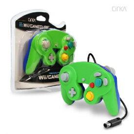 Wii/CUBE Cirka Controller-Green/Blue(シリカコントローラー グリーン/ブルー)〈Cirka〉[新品]