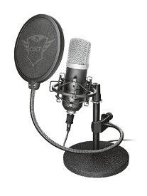 TRUST GAMING 252 Emita Streaming Mictophone 21753(トラストゲーミング-ジーエクスティ252 エミタストリーミングマイクロフォン 21753)正規保証品〈TRUST GAMING〉[新品]