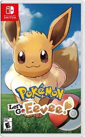SWITCH Pokemon:Let's Go, Eevee! US(ポケモン レッツゴーイーブイ 北米版)〈Nintendo〉[新品]
