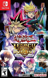 SWITCH Yu-Gi-Oh!Legacy of the Duelist:Link Evolution US(遊戯王!レガシーオブザデュエリスト 北米版)〈Konami〉8/20発売[新品]