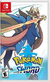 SWITCH Pokemon Sword(ポケモン・ソード 北米版)[新品]