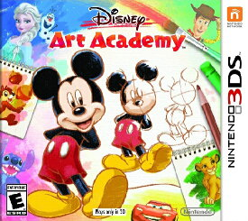 3DS Disney Art Academy US(ディズニーアートアカデミー 北米版)〈Nintendo〉[新品]