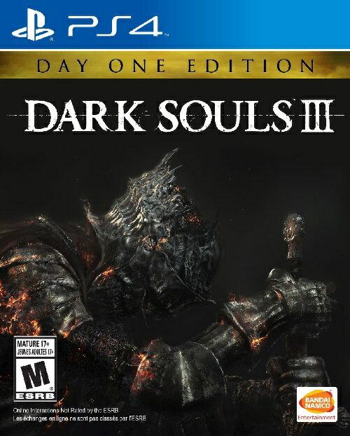 PS4 DARK SOULS III Day One Edition USA(ダークソウルIII デイワンエディション 北米版)〈Bandai Namco Games〉[新品]