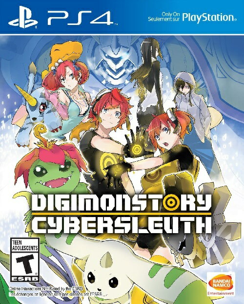 PS4 DIGIMON STORY CYBER SLEUTH USA(デジモンストーリーサイバースルゥース 北米版)〈Bandai Namuco〉