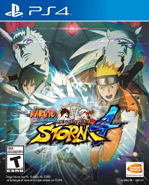 PS4 Naruto Shippuden Ultimate Ninja Storm4 USA(ナルトシップウデンアルティメットニンジャストーム4 北米版)〈Bandai Namuco〉
