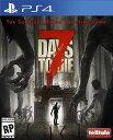 PS4 7 Days to Die USA(セブンデイズトゥーダイ 北米版)〈Telltale Publishing〉