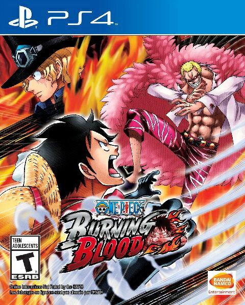 PS4 One piece burning blood USA(ワンピース バーニングブラッド 北米版)〈Bandai〉※通常版