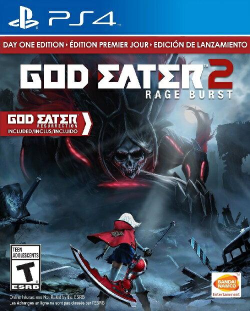 PS4 God Eater 2: Rage Burst(ゴッドイーター2 レイジバースト 北米版)〈Bandai〉
