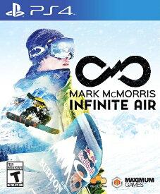 PS4 Mark McMorris:Infinite Air(マークマクモリス:インフィニットエアー 北米版)〈Maximum Games〉