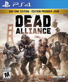 PS4 Dead Alliance:Day One Edition(デッドアライアンス 北米版)〈Maximum Games〉[新品]