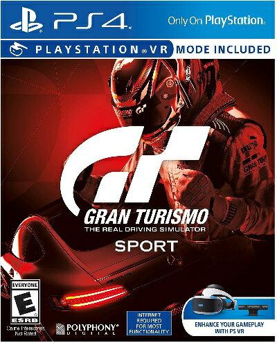 PS4 Gran Turismo Sport USA(グランツーリスモスポーツ北米版)〈Sony〉[新品]