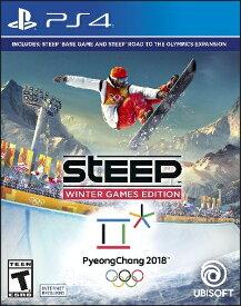 PS4 Steep Winter Games(スティープ ウィンターゲーム 北米版)[新品]