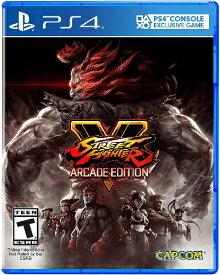 PS4 Street Fighter V:Arcade(ストリートファイターVアーケード 北米版)[新品]