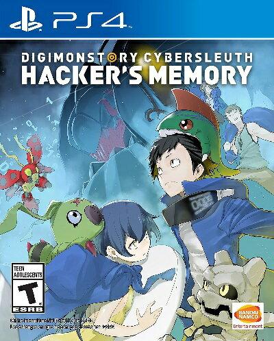 PS4 Digimon Story Cyber Sleuth:Hacker's Memory(デジモンストーリーサイバースルゥース ハッカーメモリー 北米版)〈Bandai〉[新品]
