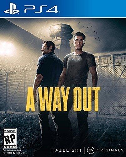 PS4 A Way Out US(ウェイアウト)〈Electronic Arts〉[新品]