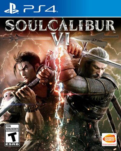 PS4 SOULCALIBUR VI(ソウルキャリバーVI 北米版)〈Bandai Namco〉[新品]