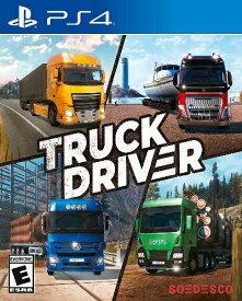 PS4 Truck Driver 北米版[新品]