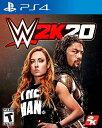 PS4 WWE 2K20(ダブリュダブリュイー2K20 北米版)10/22発売[新品]